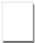 "Economy White 1/8"" Foam Core Backing For Picture Frames"
