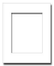 16x20 Archival White Core Photo Mat