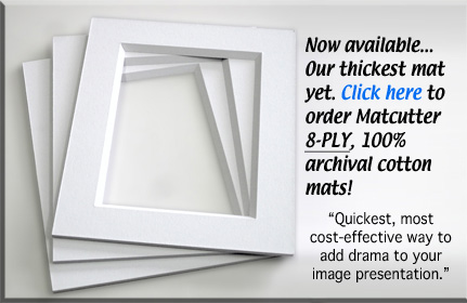 Check out super thick 8 ply photo mats!